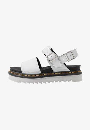 VOSS - Platform sandals - light grey hydro