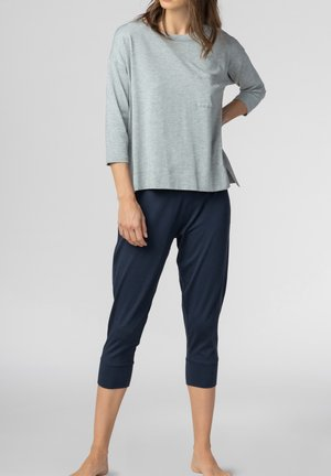 HOMEWEAR SHIRT SERIE NIGHT2DAY - Pyjama top - grey melange