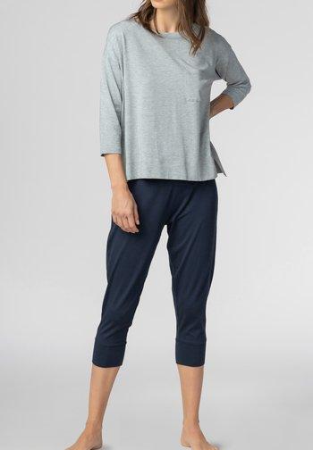 HOMEWEAR SHIRT SERIE NIGHT2DAY - Pyjama top - grey melange