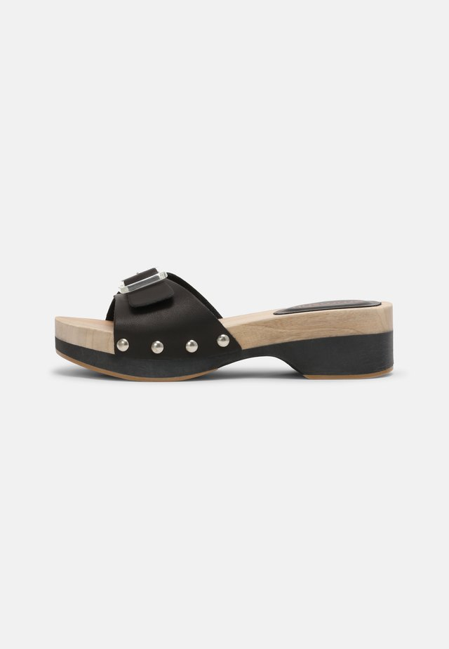 CANDIE - Clogs - black