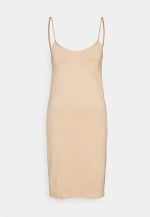 JAANA UNDERDRESS - Jersey dress - beige