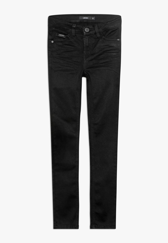 NLMPILOU PANT - Slim fit jeans - black denim