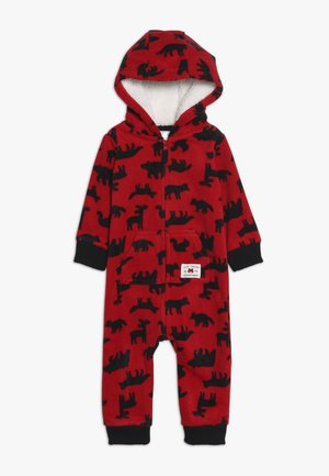 BOY BABY - Dupačky na spaní - red