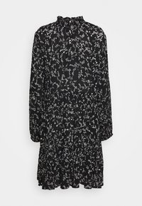 Kaffe - SAMA AMBER DRESS - Day dress - black/chalk - 1