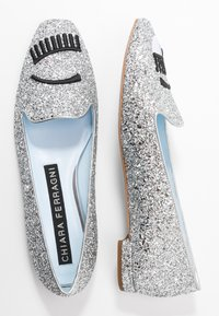 CHIARA FERRAGNI - Slip-ons - silver glitter - 3