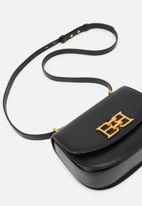 Bally - CHAIN MINI BAG - Across body bag - black - 4