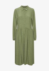Denim Hunter - Shirt dress - oil green dot print - 4