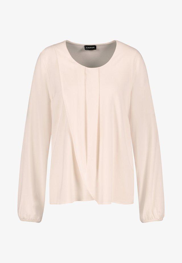 Langarmshirt - winter white