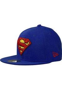 New Era - 59FIFTY - CHARACTER BASIC SUPERMAN - Cap - blau - 0