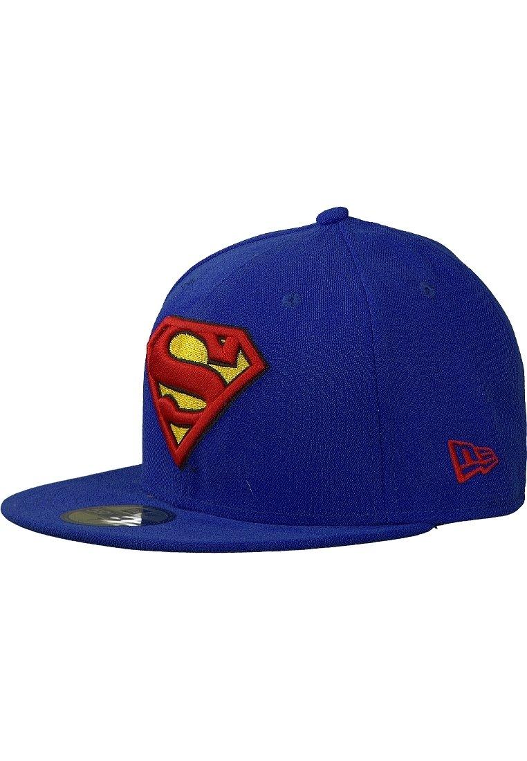 New Era - 59FIFTY - CHARACTER BASIC SUPERMAN - Cap - blau