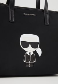 KARL LAGERFELD - Bolso shopping - black - 6