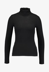 New Look - ROLL NECK - Long sleeved top - black - 4