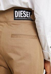 Diesel - CHIKU - Spodnie materiałowe - beige - 7