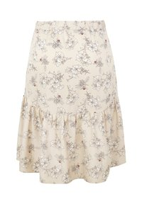 INAN ISIK - ANI  - A-line skirt - beige - 1