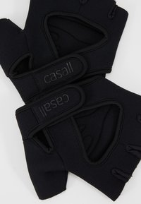 Casall - EXERCISE GLOVE STYLE - Fingerhansker - black - 4