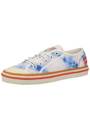 Trainers - watercolour blue s686