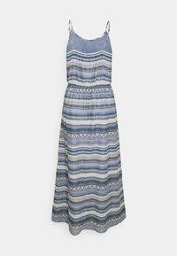 ONLY - ONLASIA LIFE DRESS - Maxi dress - faded denim/desert flower - 1
