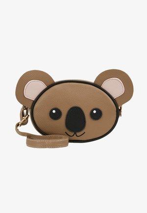 KOALA BAG - Taška spříčným popruhem - brown