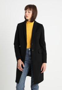 Benetton - CLASSIC TAILORED COAT - Classic coat - black - 0
