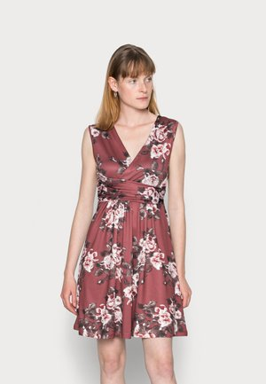 CACHE COEUR PRINTED DRESS - Jerseykjole - light pink