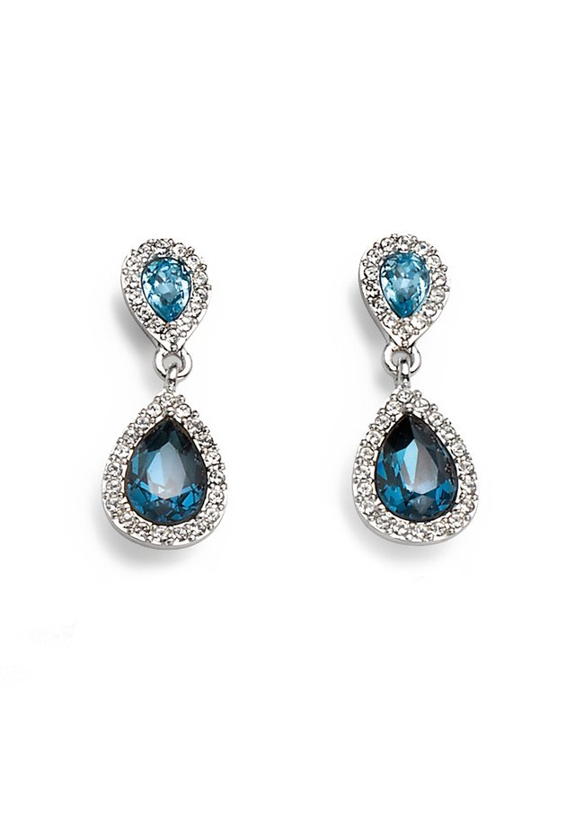 RAIN - Earrings - blau