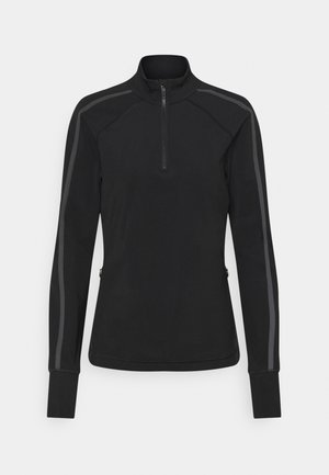 THERMODYNAMIC HALF ZIP REFLECTIVE - Fleece jumper - black