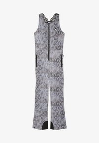 SuperRebel - SKI DUNGAREE  - Talvihousut - beige - 3