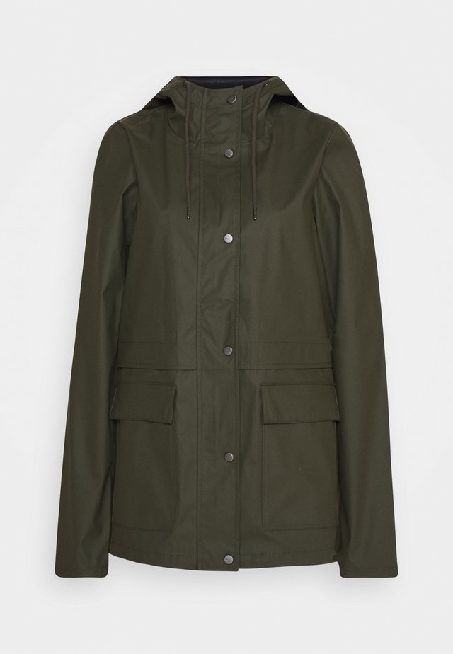 ONLTRAIN RAINCOAT - Veste imperméable - forest night