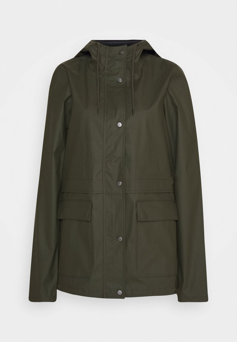 ONLY Tall - ONLTRAIN RAINCOAT - Impermeable - forest night