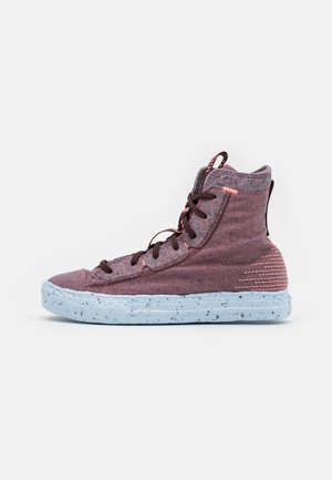 CHUCK TAYLOR ALL STAR CRATER - High-top trainers - red/black currant/bright coral