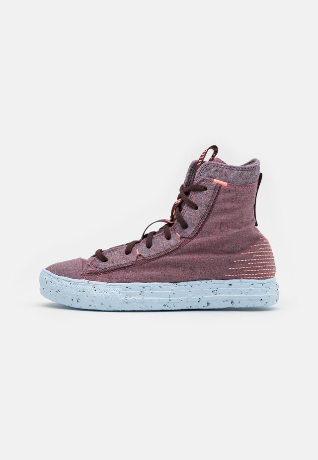 CHUCK TAYLOR ALL STAR RENEW UNISEX - Zapatillas altas - red/black currant/bright coral