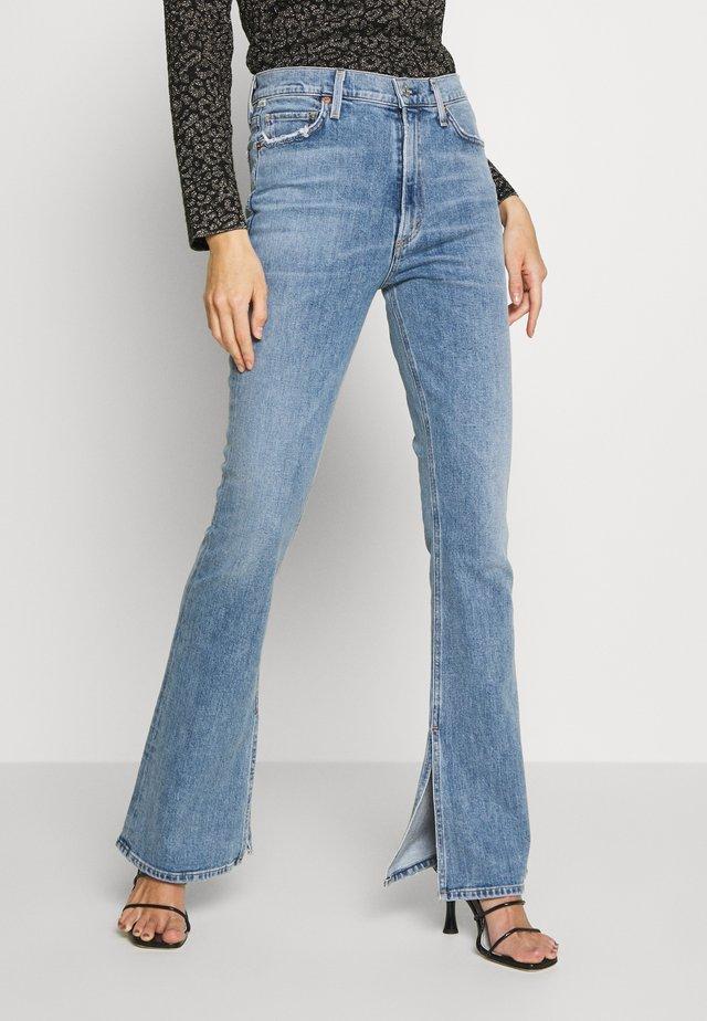 GEORGIA HIGH RISE  - Jeans bootcut - tabo