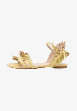 Sandalen - żółty