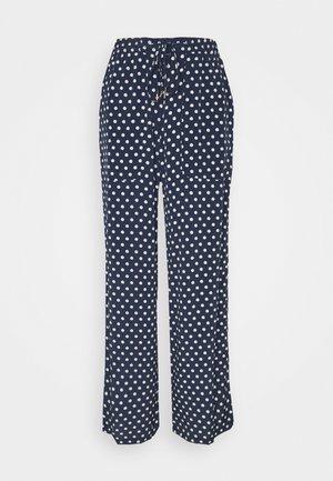SOFT MOSS - Trousers - blue