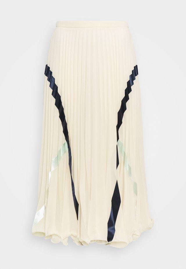 A-line skirt - sepia brown