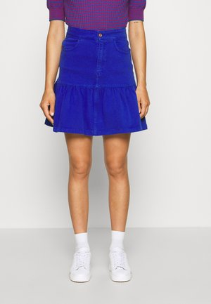 Mini skirt - abyssal blue