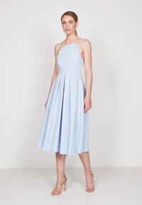 True Violet - STRAPPY SKATER - Cocktail dress / Party dress - light blue - 1
