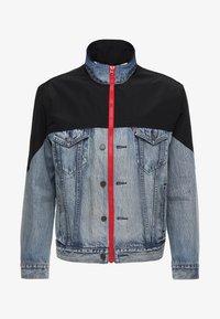 Levi's® - UNBASIC MOCKNECK TRUCKER - Giacca di jeans - cruv trucker - 5