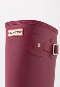 Hunter ORIGINAL - WOMENS ORIGINAL TALL - Gummistøvler - red algae - 2