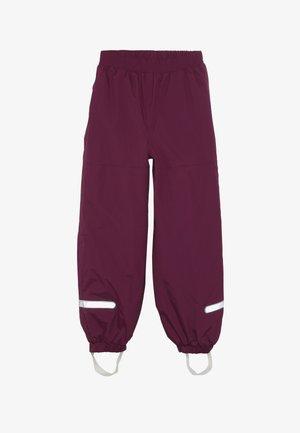PLATON SKI PANTS - Snow pants - bordeaux