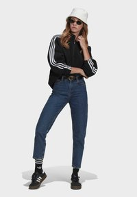 adidas Originals - FLEECE HZ - Sweat polaire - black - 1