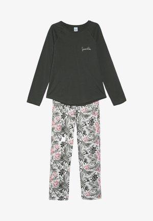 PYJAMA LONG - Pyjama set - deep khaki