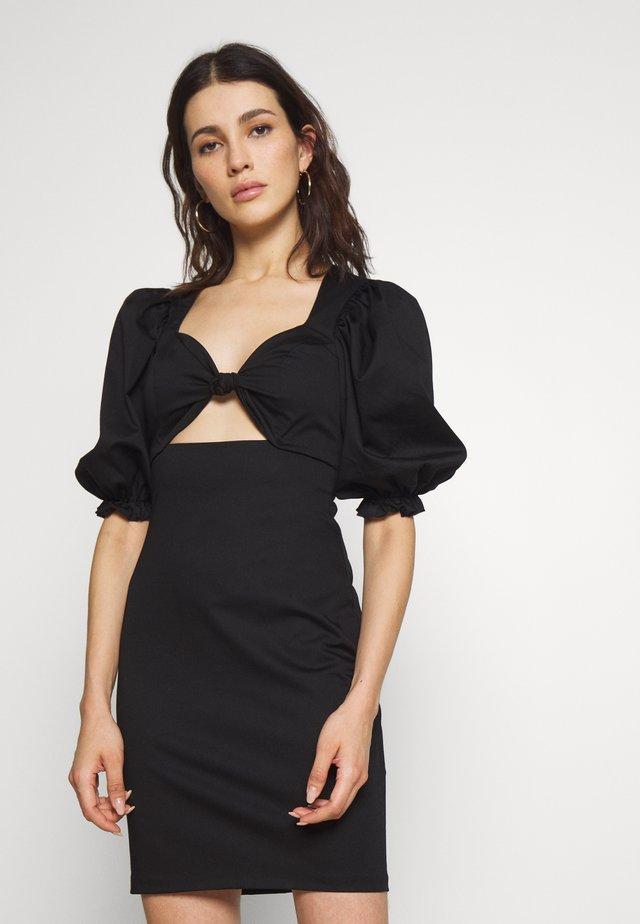 RENKLI - Shift dress - black