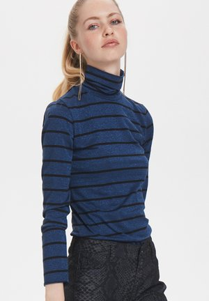 Long sleeved top - victoria blue