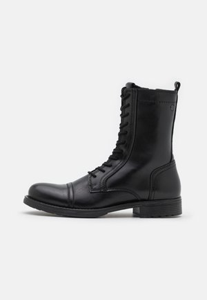 JFWRUSSEL ULTRA HI - Lace-up ankle boots - anthracite