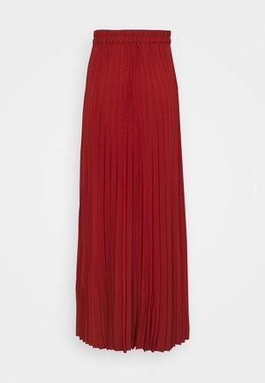 SLFALEXIS SKIRT - A-line skirt - bordeaux