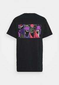 Grimey - THE LOOT TEE UNISEX - T-shirt med print - black - 1