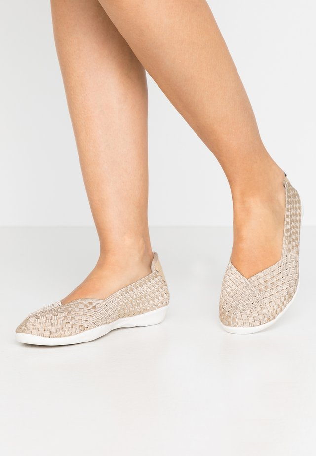 CATWALK - Slip-ons - light gold