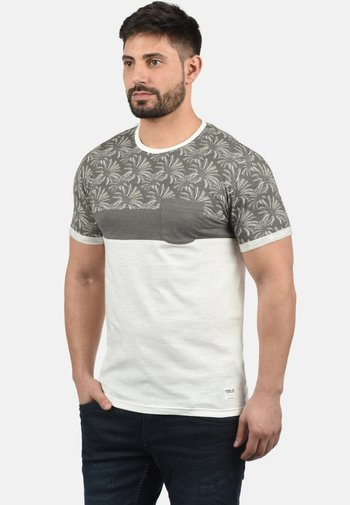 FLORIAN - Print T-shirt - mid grey