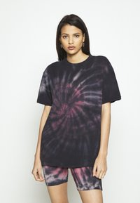 Missguided - COORD AND CYCLE TIE DYE SET - Shorts - pink - 2